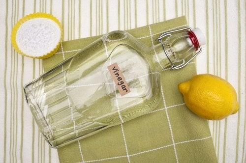 Remediu natural pentru onicomicoză cu oțet alb