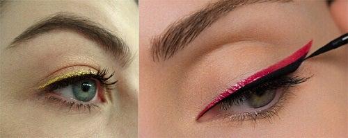 Tușul de ochi colorat este ideal pentru zilele de vară
