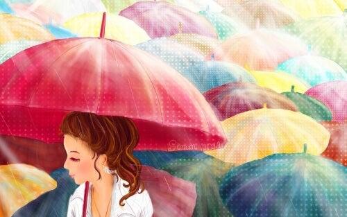 Umbrelele emoționale ne ajută să conservăm energia pozitivă