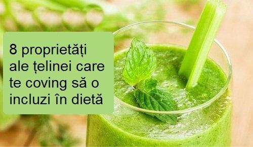 Țelina este ideală pentru a fi inclusă în dieta zilnică