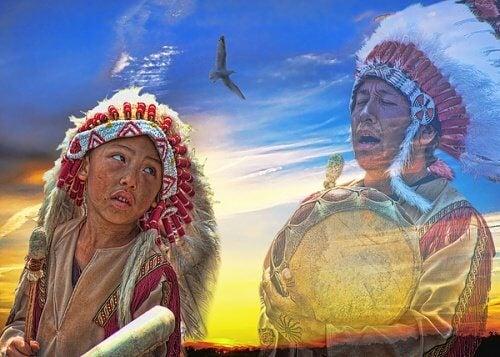 Răbdarea și tăcerea la amerindieni