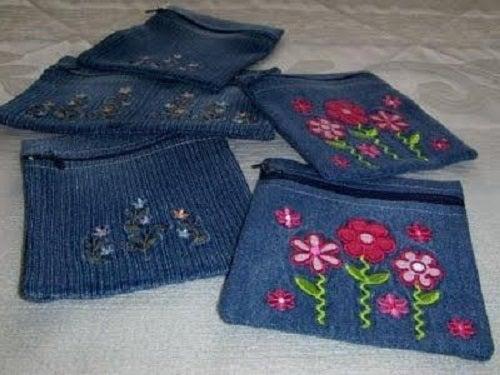 Cum să reutilizezi blugii vechi pentru a obține portofele