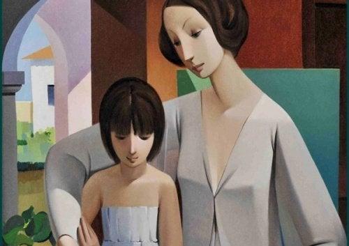 Legătura emoțională dintre mamă și fiică