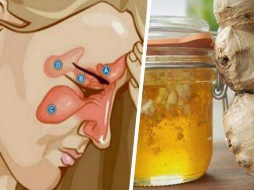 Combate sinuzita cu două ingrediente