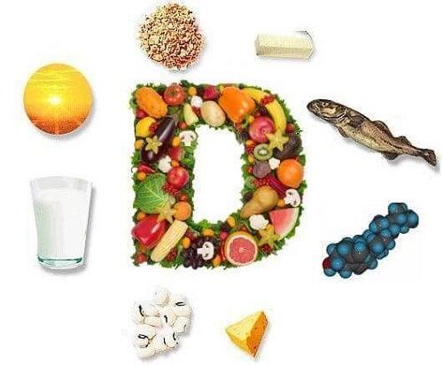 Simptomele hipocalcemie combătute cu alimente bogate în vitamina D