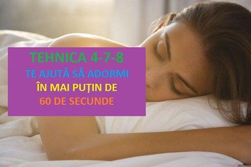 Tehnica 4-7-8 te ajută să adormi într-un minut