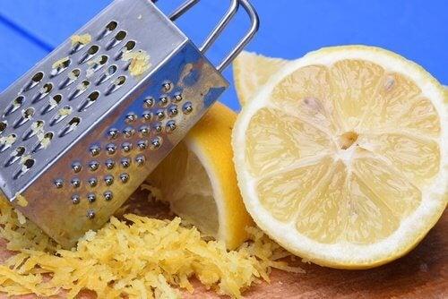 Utilizările cojii de lămâie in gospodărie