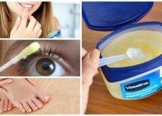 Vaselina prezintă numeroase utilizări cosmetice
