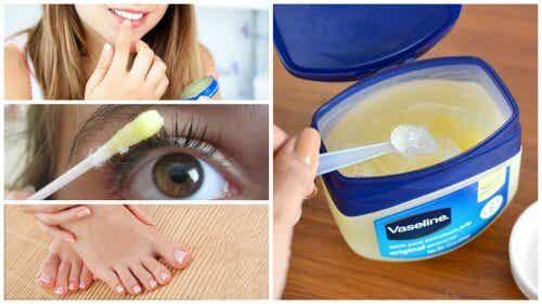 Vaselina – 12 utilizări în cosmetică