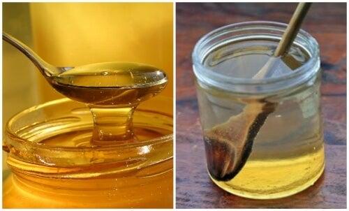 Apa cu miere - beneficii pentru organism