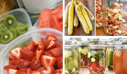 Depozitarea alimentelor corectă este esențială pentru a evita infecțiile