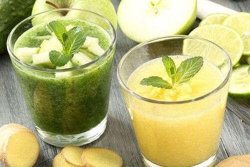 Diverse băuturi naturale te ajută să arzi grăsimea abdominală