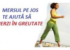Mersul pe jos este un obicei foarte sănătos