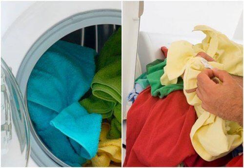 Spălarea rufelor cu ajutorul oțetului alb