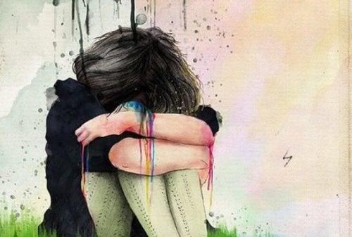 O persoană toxică este înconjurată de suferință