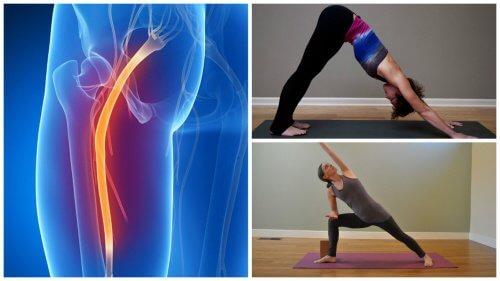 Yoga poate ameliora durerea cauzată de sciatică