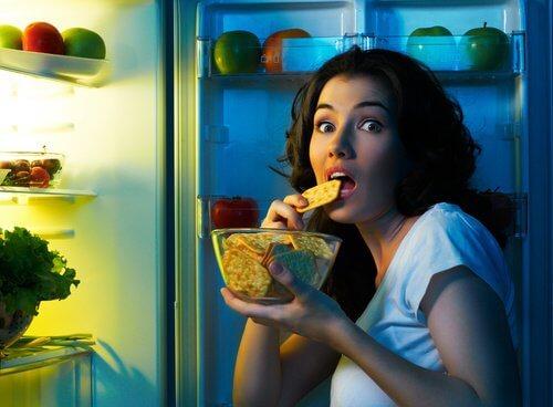 Simptome ale diabetului precum creșterea apetitului