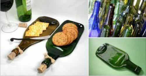 Cum să transformi o sticlă într-o tavă pentru gustări