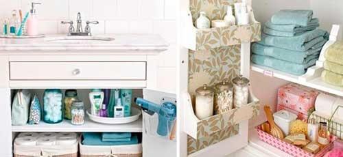 Cum să-ți menții baia curată și ordonată