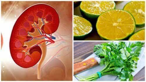 Elimină pietrele la rinichi cu sirop cu lămâie și pătrunjel
