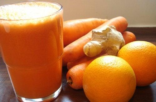 Morcovii și portocalele îți protejează ficatul