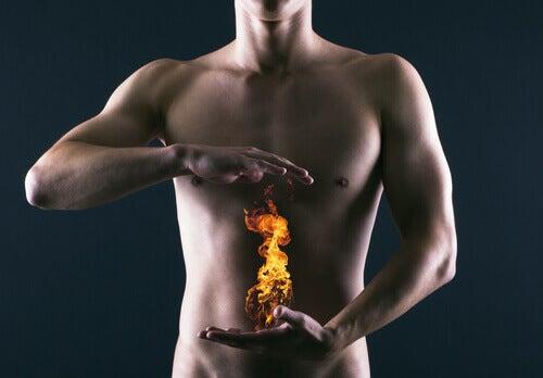 Indigestia poate fi cauzată de boli precum gastrita