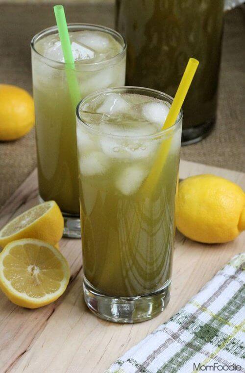 Limonada cu ceai verde ajută la slăbit și la subțierea taliei