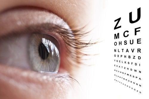 Ochi care vede litere