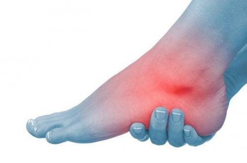 glezne umflate cu dureri de genunchi