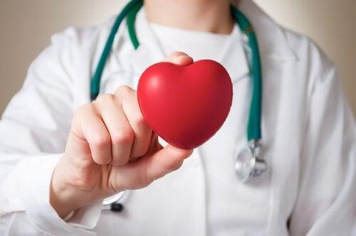 Xantelasmele precedând o problemă cu inima