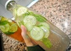 Apa cu castravete este foarte sănătoasă