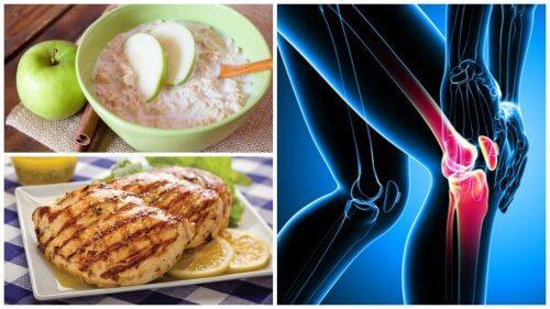 Cu o dietă specială, poți să-ți întărești oasele și articulațiile