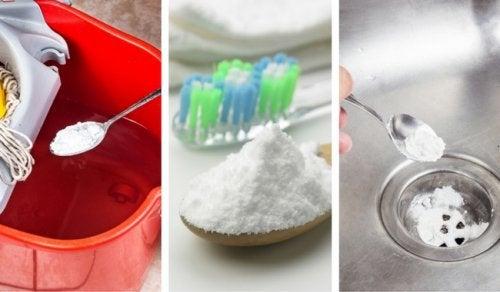 Bicarbonatul de sodiu prezintă numeroase utilizări alternative
