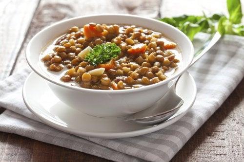 Diete cu linte care întăresc oasele și articulațiile