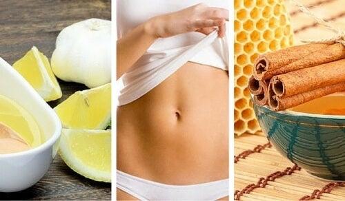 5 remedii naturale pentru a obține un abdomen plat