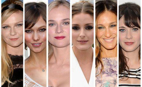 Alege tunsoarea în funcție de forma feței