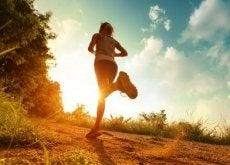 Alergatul îți permite să petreci mai mult timp în natură