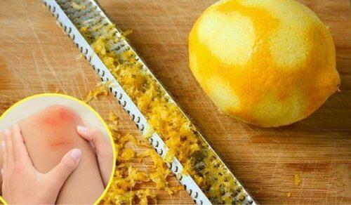 Coaja de lămâie oferă diverse beneficii pentru sănătate