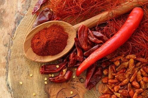 Condimente picante pentru tiroida leneșă