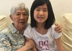 O fetiță a dorit să-și ajute bunica bolnavă de Alzheimer