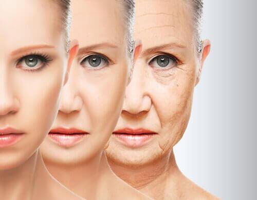Nivelul de colagen scade odată cu înaintarea în vârstă