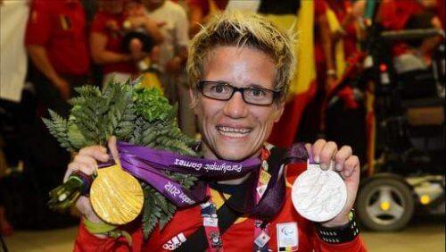 Sportiva paralimpică Marieke Vervoort a strâns numeroase medalii
