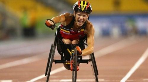 Ultima cursă pentru sportiva paralimpică Marieke Vervoort
