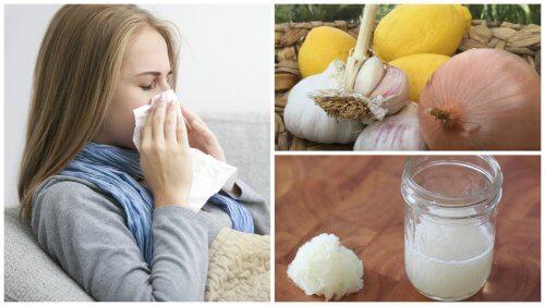 Ceapa poate trata tusea, alergiile și gripa