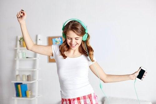 Efectele muzicii asupra stării precum relaxarea