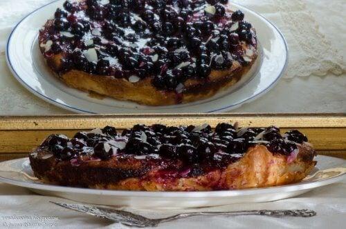 Indicații referitoare la prăjitura cu iaurt și afine