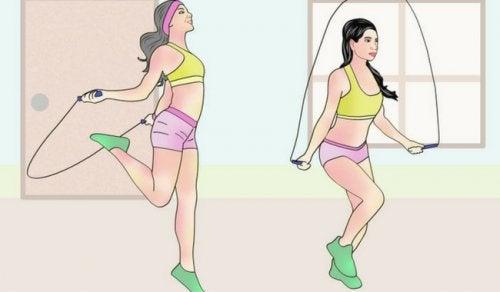 Săritul corzii te ajută să îți menții sănătatea