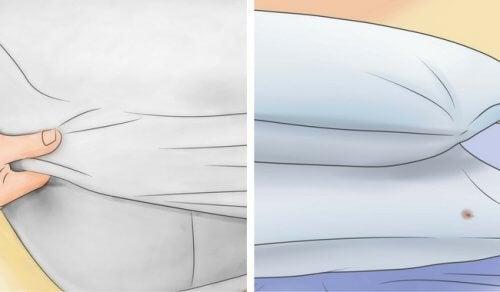 Cum să-ți albești pernele și salteaua