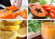 Prepară și consumă smoothie-uri cu papaya