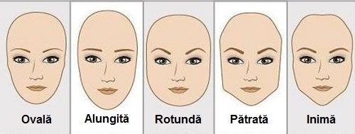 Pensează-ți sprâncenele după forma feței